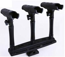 Triple Rod Holder with Extender and Triple base