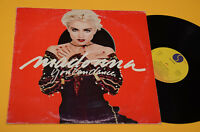 MADONNA LP YOU  CAN DANCE ORIG ITLAY 1987 EX
