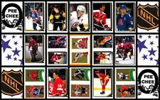 1987 O-Pee-Chee NHL Hockey Sticker Complete Set of 255 Robitaille Hextall Rookie