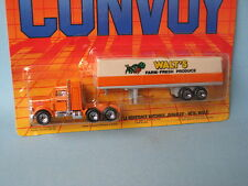 Matchbox Convoy Peterbilt Truck and Trailer Walts Farm Farming Produce in BP Toy