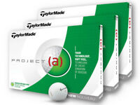 TaylorMade Project a Golf Balls - 3 Dozen White -  Mens