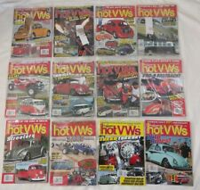 HOT VWs Magazine Lot of 12 -2013- Volkswagen Bus Beetle Ghia - Complete Year!