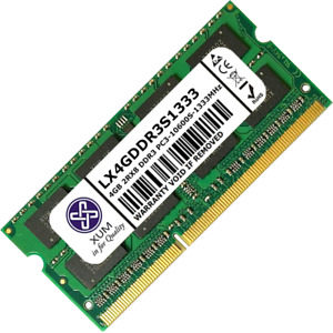 XUM 4GB 8GB Memory RAM Laptop PC3-10600 (DDR3-1333) 204 Non-ECC Unbuffered Lot