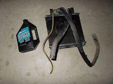 1996 Polaris Xplorer 400 L 4X4 Radiator Coil Fins Coolant Cap Lid Hose Cover