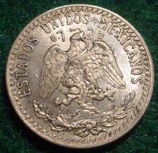 1937 SILVER 20 CENTAVOS MEXICO***