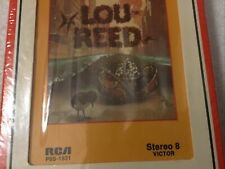 SEALED!  Lou Reed 8  Track Tape (Velvet Underground)