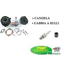 CILINDRO TOP KT00049 D.47+GABBIA+CANDELA VESPA 50 SPECIAL PK - XL 75cc 10 LUCI