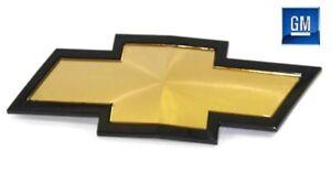 01-02 Silverado 2500 / 3500 HD Gold Front Grill Bowtie Emblem NEW GENUINE GM 713