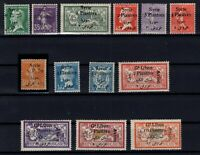 G139024/ FRENCH SYRIA – YEARS 1924 - 1925 MINT MH SEMI MODERN LOT – CV 125 $