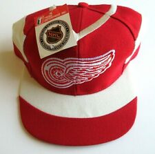 Rare Vintage Detroit Red Wings Snapback Twins Enterprise Hat New Dead Stock NWT