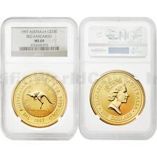 Australia 1997 Red Kangaroo $200 2 oz Gold NGC MS69