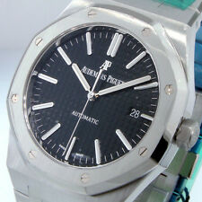AUDEMARS PIGUET 15400ST.OO.1220ST.01 BLACK ROYAL OAK 41 MM STAINLESS STEEL