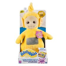 """Teletubbies 10"""" Laugh and Giggle Laa Laa,Teletubbies Plush is for ages 18+month."""