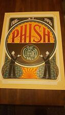 Phish Clifford Ball poster 1996 Vgc Beautiful Signed Numbered