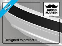 Schwarz matt Ladekantenschutz Lasche auf die Stoßstange Volkswagen Touran II