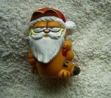 Garfield Weihnachten, als Weihnachtsmann mit Sack, Comic Figur, neu