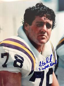 Steve Riley Minnesota Vikings NFL Signed Color 8x10 #3 W/Inscription -RARE-W/COA