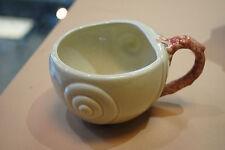 VINTAGE FITZ & FLOYD OCEANA PINK CORAL COFFEE/TEA CUP
