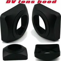 ABS 77mm Sun Shade Cover Lens Hood for DV Camcorder Video Camera DSLR Wide Angle