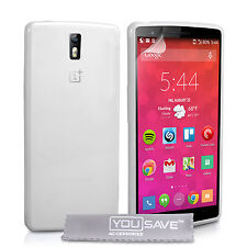 Yousave Accessories For The OnePlus 2 Two Clear Soft Silicone Gel Case Cover UK