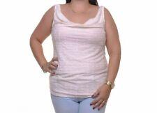 RACHEL Rachel Roy Women's Cowl Neck Sleeveless Top Size Large~~L~~Almond~~NWT