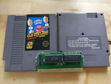 Vintage Nintendo Clu Clu Land NES 5 Screw Authentic Cartridge