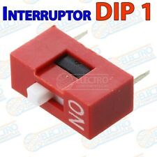 Interruptor DIP switch 1 canal DIP1 on off para PCB 1p multiswitch - Lote 1 unid