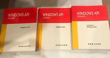 Borland Windows API Volume I, II, & III