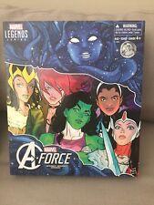 2017 SDCC Marvel Legends: A-Force Heroines Set •• BOX ONLY •• ( No Figures )