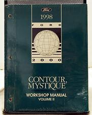 OEM 1998 Ford Contour Mercury Mystique Workshop Service Manual - Volume 2