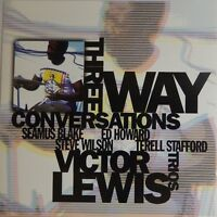 Victor Lewis Trios - Three Way Conversations (CD 1997, RED Italy Press) Nr MINT