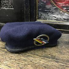 Original BUNDESWEHR Barett mit Barettabzeichen Deutsch - Französische Brigade