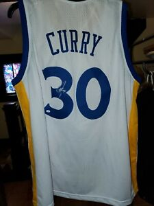 Steph Curry Signed Autographed Golden State Warriors Jersey COA