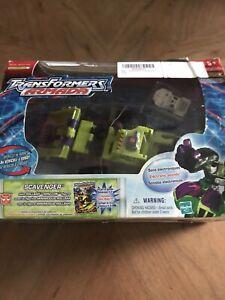 Transformers Armada SCAVENGER Max-Con Class + ROLLBAR Mini-Con, MIP/New (2003)