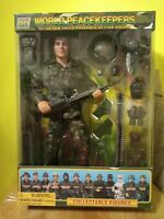 "World Peacekeepers Gunner 12"" Fully Pose-Able Action Figure Power Team Elite"