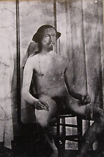 """Nude male mounted vintage photo repro print, 10 x 8"""", gay interest NP02"""