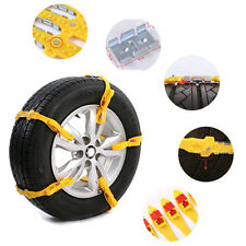 Car Truck Snow Ice Mud Chains Wheel Tyre Tire Anti-skid Thickened Tendon