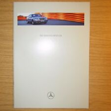 MERCEDES-BENZ CLK200 CLK230 Kompressor CLK320 CLK 200 230 320 UK Brochure 1997