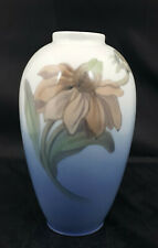 Rare Royal Copenhagen Vase Model No. 2680 Shape 47-7 Flower and Bud