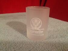 Jaegermeister  Frosted Shot glass Vintage