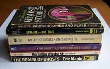 True Ghost Stories.The Realm Of Ghosts & other Vintage Paperbacks. Lot of 6.
