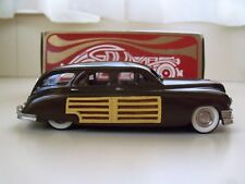 GOLDVARG COLLECTION - 1950 PACKARD WOODIE (WOODY) STATION WAGON - 1/43 DIECAST