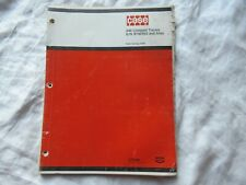 Case 446 compact lawn tractor parts catalog manual book
