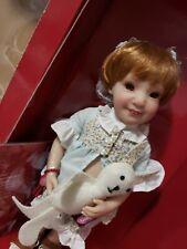 "Gotz 11"" Emi w/ Bunny Rabbit Doll Artist Beatrice Perini Germany Limited Edition"