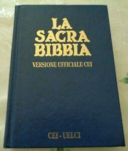 LA SACRA BIBBIA VERSIONE UFFICIALE CEI 2004