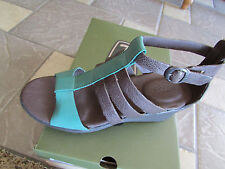 NEW KEEN VICTORIA SANDALS CASCADE BROWN 1012400 WEDGE HEEL WOMENS 8.5 FREE SHIP