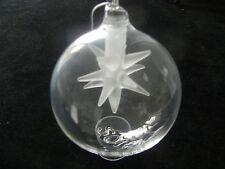 Berlin design boule Année Boules de Noël 2016 motif: étoile NEUF