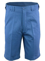Mens Casual 100% Cotton Chino Summer Expandable Walking Shorts Big Size 32-54
