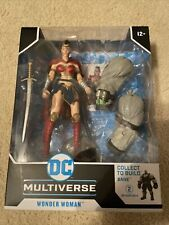 DC Multiverse Last Knight On Earth WONDER WOMAN McFarlane Toys #2 BANE BAF 2021