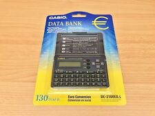 Casio Euro Conversion Currency Calculator, Model number DC-2100ER-S New & Sealed